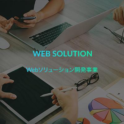 WEB SOLUTION Webソリューション開発事業